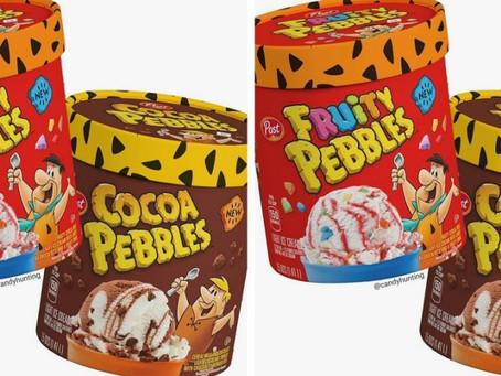 Fruity Pebbles and Cocoa Pebbles Ice Cream!