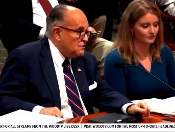 Did Rudy Giuliani Let One Rip at a Michigan Hearing?