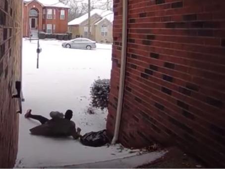 People Slipping on Ice Videos