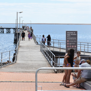 Port Victoria Jetty will be open all weekend.