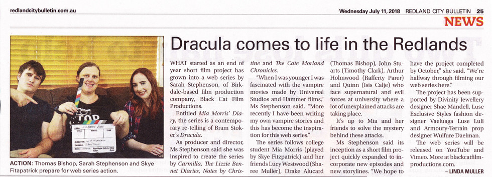 Dracula comes to life in the Redlands