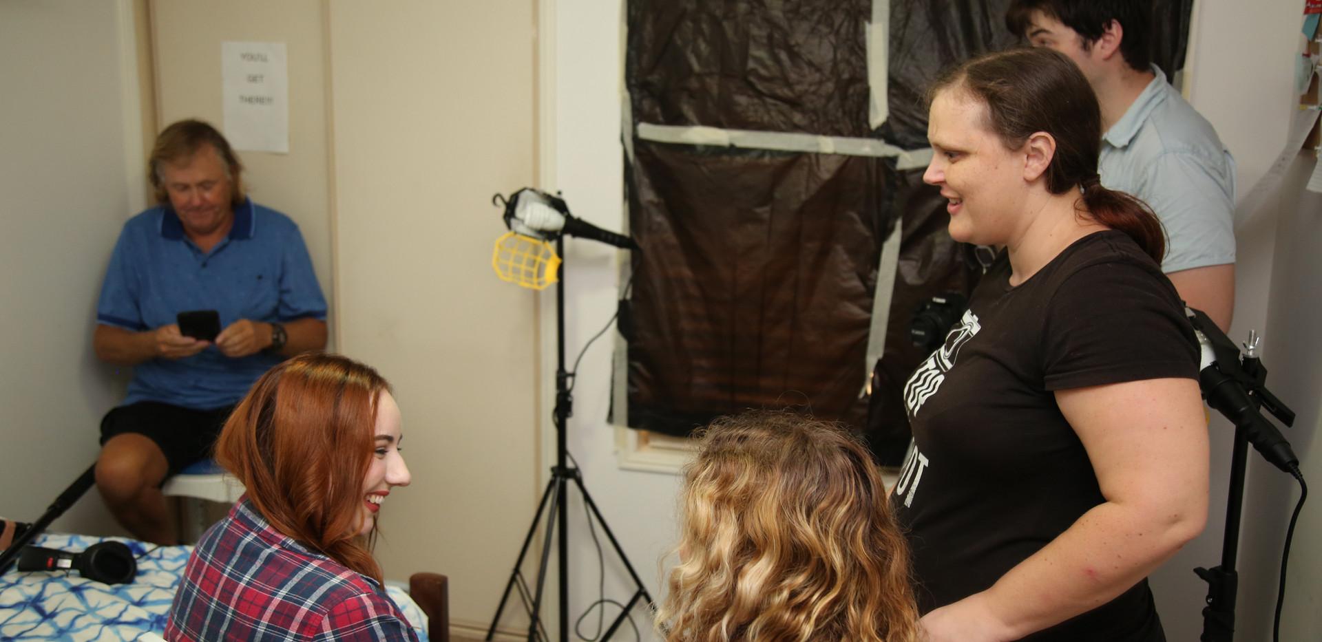 On Mia Morris' Diary Film Set