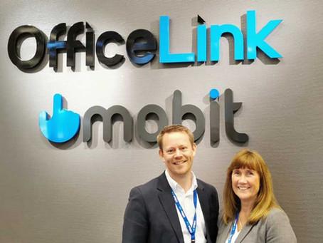 Endring i toppen i OfficeLink