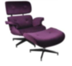 Eames Premium Lounge Chair and Ottoman