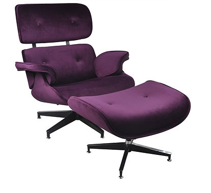 Eames Premium Lounge Chair and Ottoman