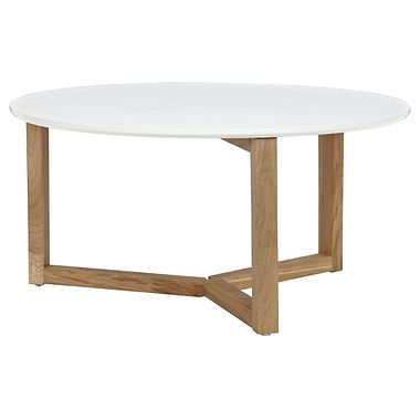 Stockholm Coffee Table Oak White