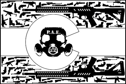 Precision Armament Eng. Colorado Flag Decal