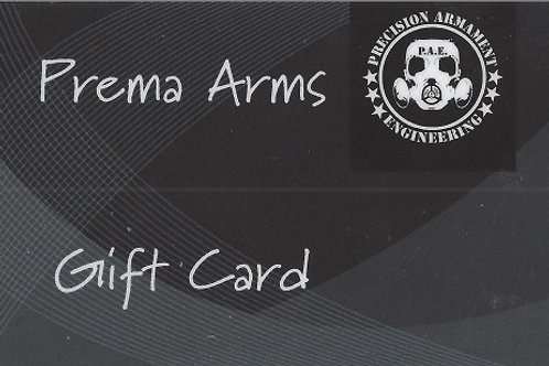Prema Arms Gift Cards