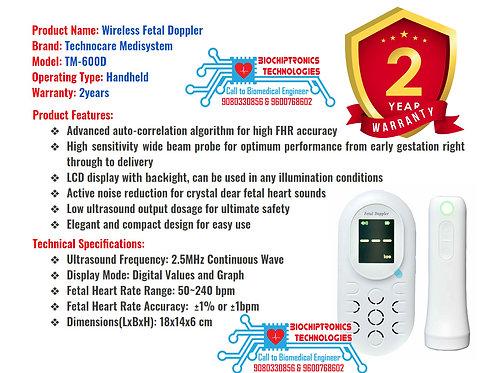 Wireless Fetal Doppler