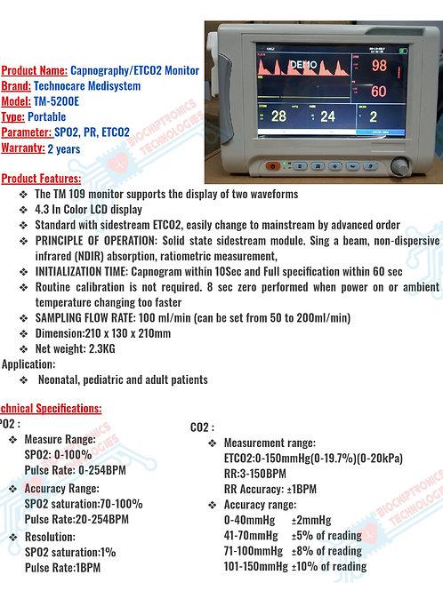 ETCO2 Monitor