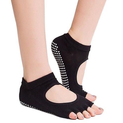 Yoga-/Pilates Sok med Anti-slip