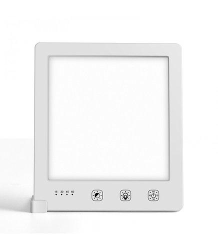 LED lysterapi lampe med timer