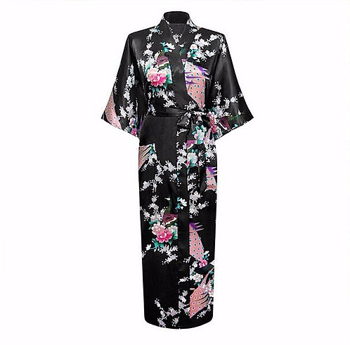 Japansk Kimono - lang
