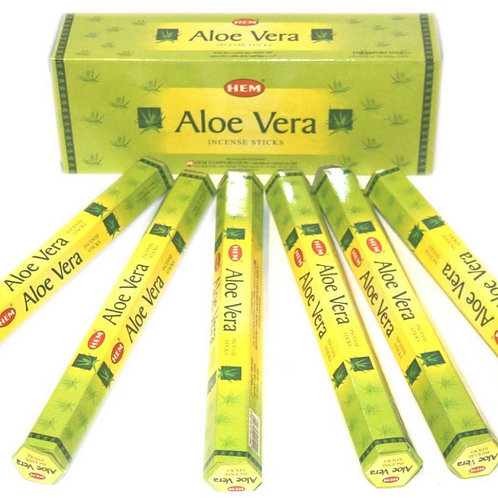 Røgelse - Aloe Vera