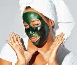 Genopfriskende ansigtsmassage & alge ansigtsmaske