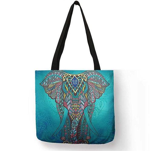 Smukke vævede Mandala tasker
