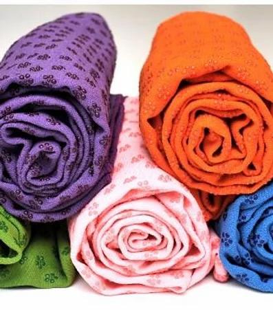 Skridsikkert Yogahåndklæde
