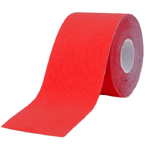 Kinesiology tape - 5 cm wide - red