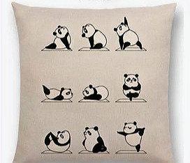 Yoga Panda pyntepudebetræk