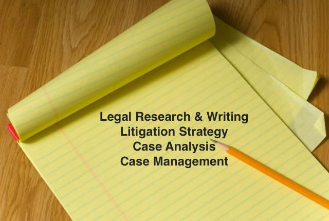 Ongoing Legal Research and Writing