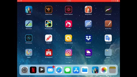 Graphic For IPad Pro - Documents Browser