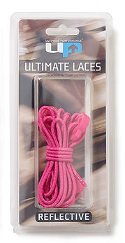 UP6731 Elastic Laces - Reflective Pink.j