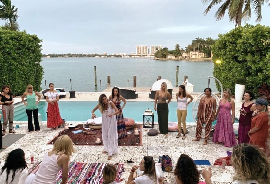 Teaching Relationship workshop at 'I Am Sacred Sisters gathering