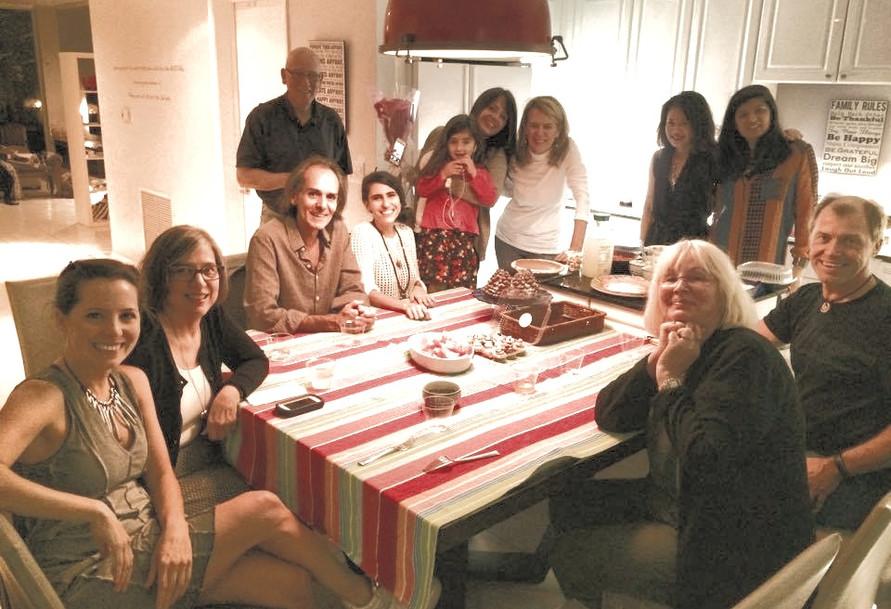 Menafesting community celebration potluck