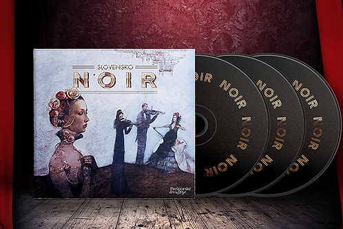 CD audiokniha Slovensko Noir (3xCD)