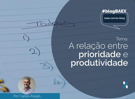 A relação entre prioridade e produtividade