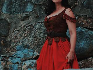 Bethany Lauren James stars as Aldonza in Man of La Mancha at The Americana Theatre Company