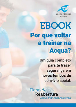 PORQUE VOLTAR A TREINAR NA ACQUA EBOOK 1