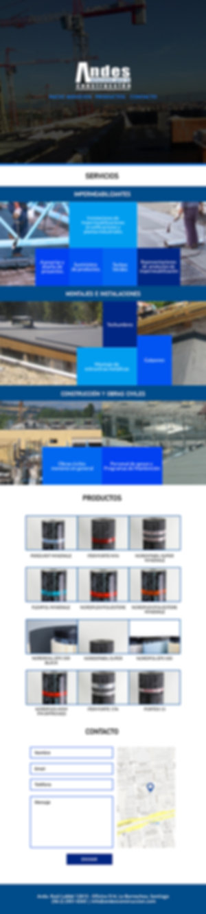 Wireframe Constructora