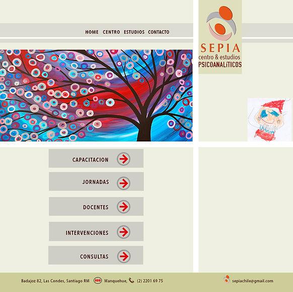 Página de Sitio Web