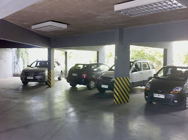 Zona de estacionamientos