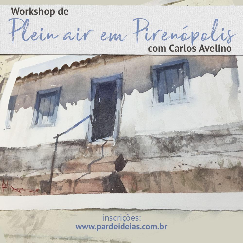 Plein air em Pirenópolis
