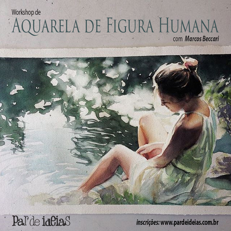 Aquarela de Figura Humana