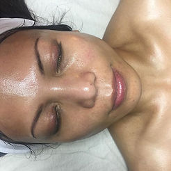 No filter or products on her skin! Post