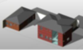 revit bim 3D imagem casa padrao