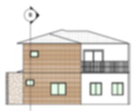 fachada casa padrao 100m² 3D