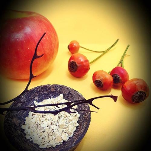 Muesli pomme avoine cynorrhodon