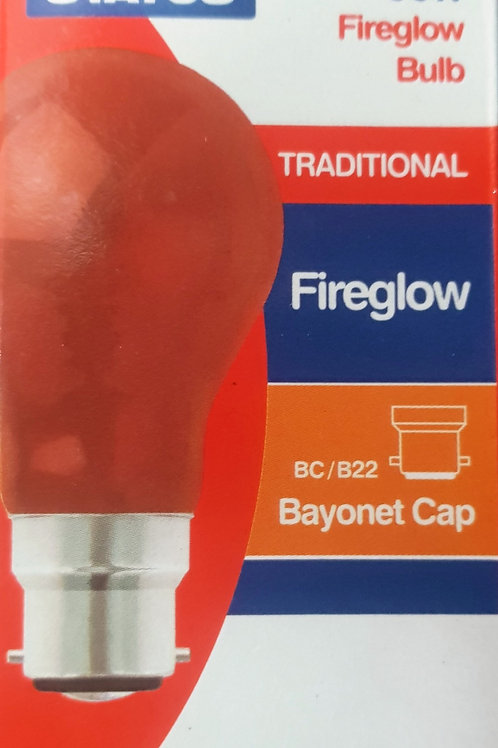 Status 60w Fireglow Heat Bulb - Single