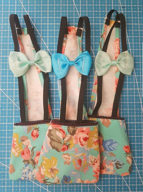 Floral Diaper - for Chickens/Ducks