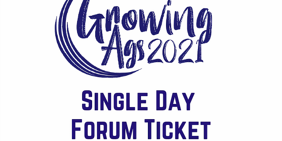 Growing Ags 2021 - Single Day FRIDAY 14 MAY