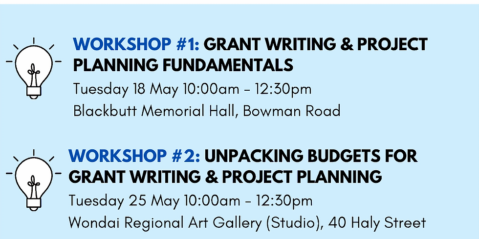Grant Writing Workshop - Unpacking Budgets
