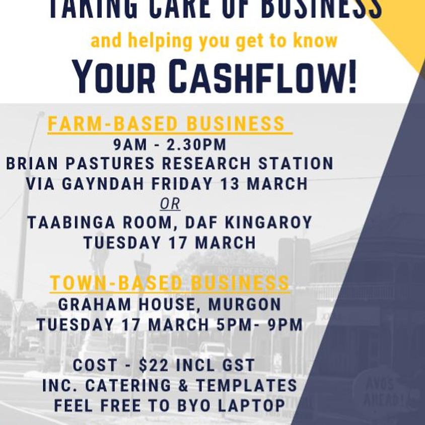 Farm-Based Business: Cash Flow Workshop (Taking Care of Burnett Inland Business)