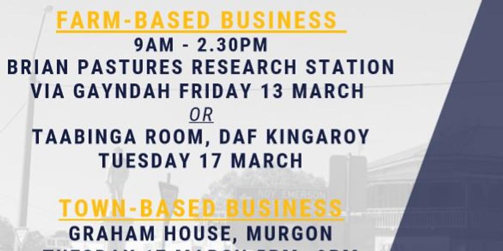 Town-Based Business: Cash Flow Workshop (Taking Care of Burnett Inland Business) (1)