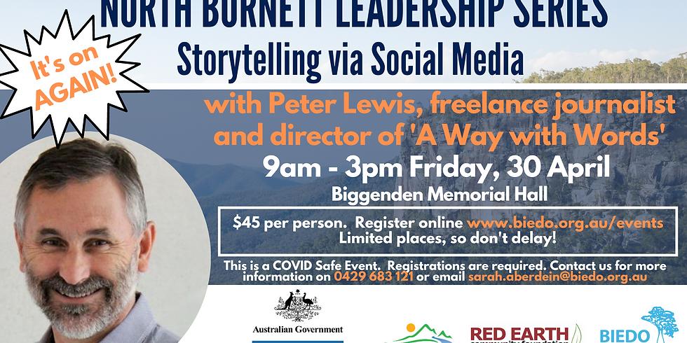 Storytelling via Social Media: Workshop 3 (North Burnett Leadership Series)