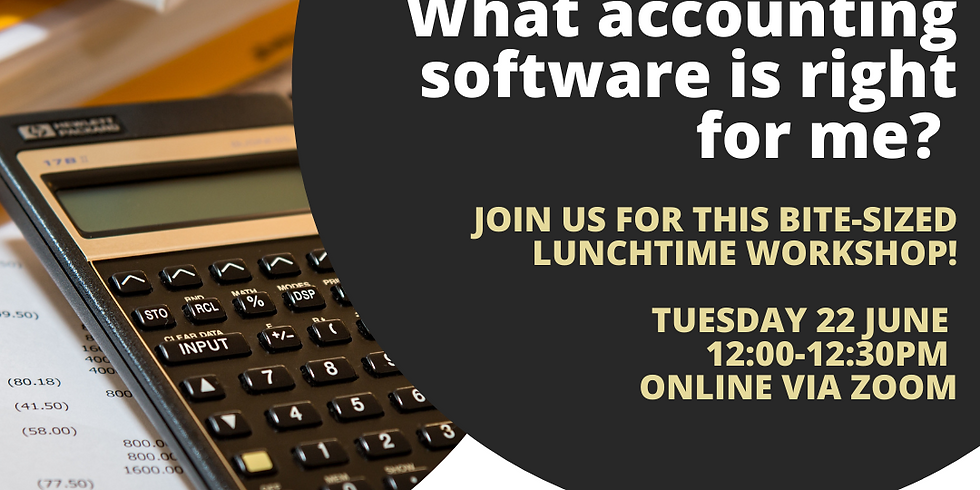 What accounting software is right for me?