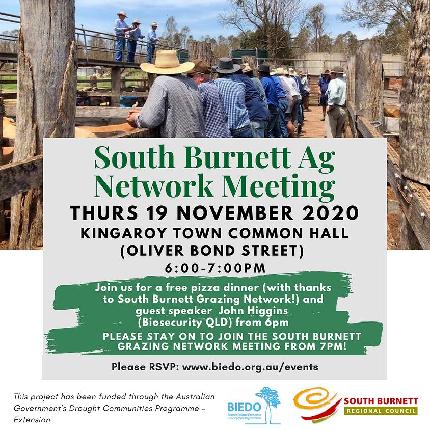 South Burnett Ag Network Meeting: November 2020